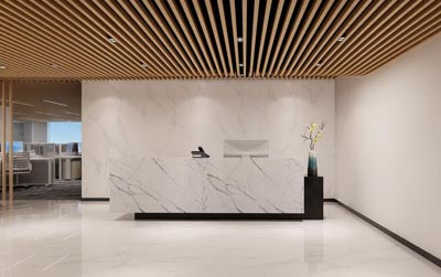 <b>12万装修的300平方现代风格办公室设计作品</b>