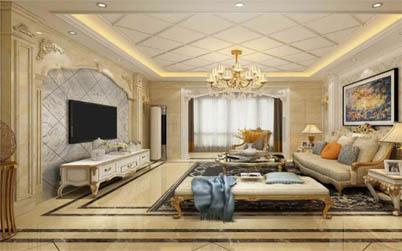 <b>南阳淅川山水宜城小区装修190平方豪华欧式设计</b>