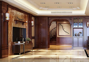<b>南阳淅川县自建别墅装修设计龙发王侗作品</b>