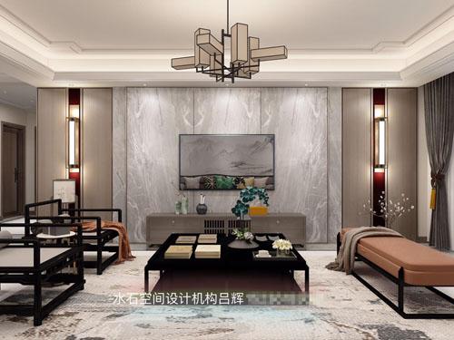 <b>南阳清华园172中户现代中式装修吕辉设计师作品</b>