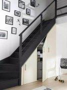 别墅装修楼梯下边空间该如何利用,来看这里!